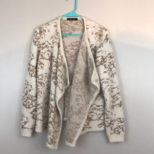 Like New Fuzzy August Silk Sweater M